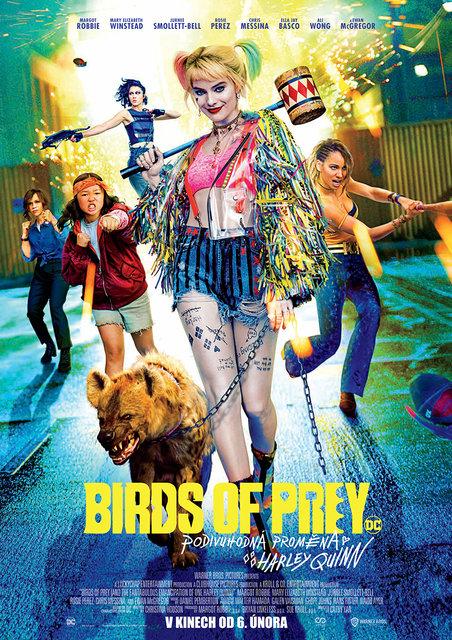 KINO: Birds of Prey (Podivuhodná proměna Harley Quinn)