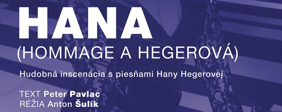 HANA (HOMMAGE À HEGEROVÁ)