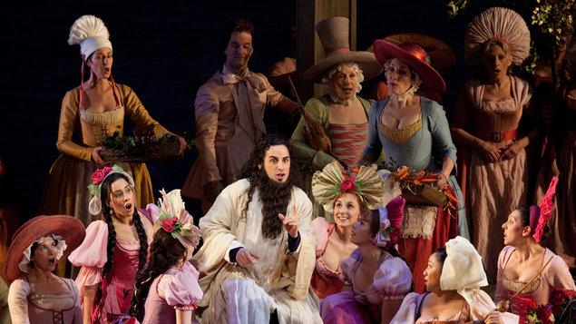 Hrabě Ory - opera v kině