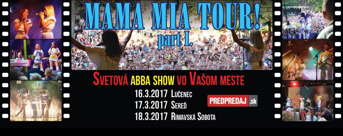 Abborn - Mama Mia Tour!