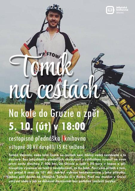 Tomík na cestách: Na kole do Gruzie a zpět