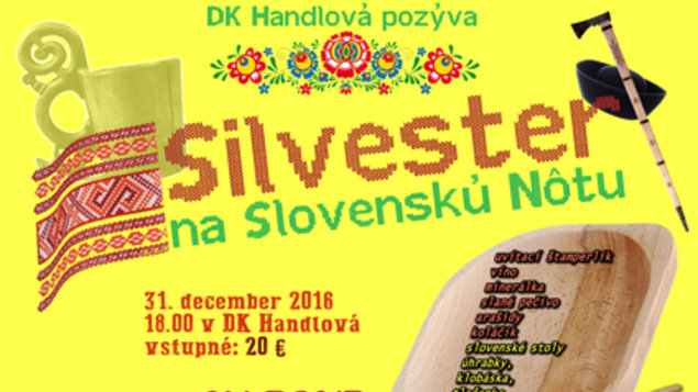 Silvester na slovenskú nôtu