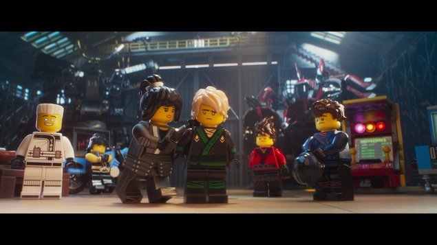 LEGO NINJAGO vo filme
