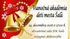 Vianočná akadémia detí mesta Šaľa