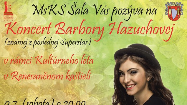 Koncert Barbory Hazuchovej