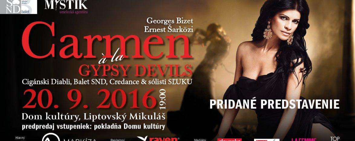 Carmen á la GYPSY DEVILS