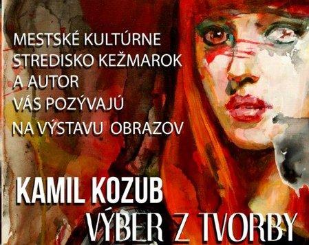 Výstava obrazov KAMIL KOZUB 12.1.2017 - 1.2.2017
