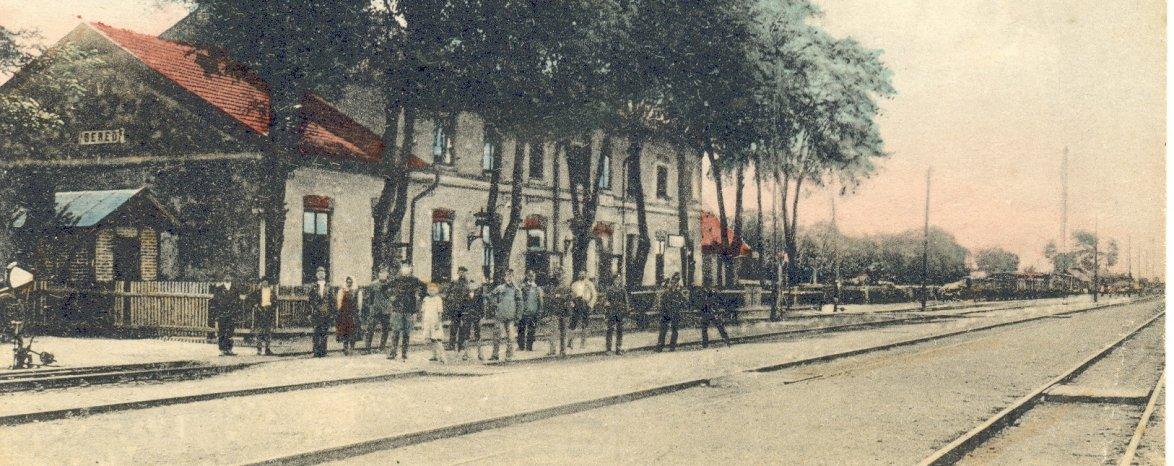 História prvej konskej (1846-2016) a parnej železnice (1876-2016) v Seredi