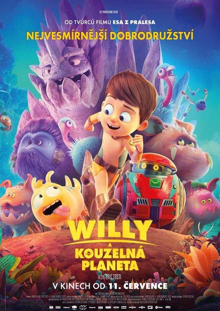 KINO: Willy a kouzelná planeta