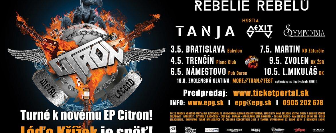 Citron – Radegast Rebelie rebelů Tour 2016