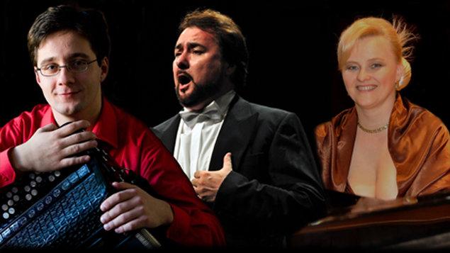 Vianočný koncert Michala Červienku a Jaroslava Dvorského | SKD