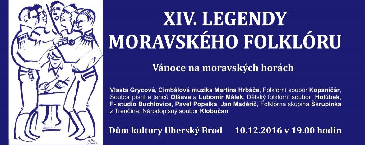 """XIV. Legendy moravského folkloru """"vánoční"""""""