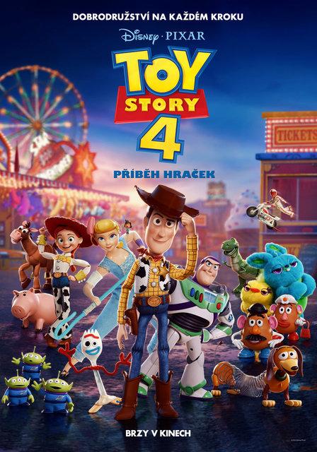 KINO: Toy Story 4: Příběh hraček