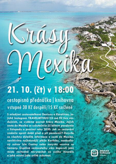 Krásy Mexika – cestopisná přednáška