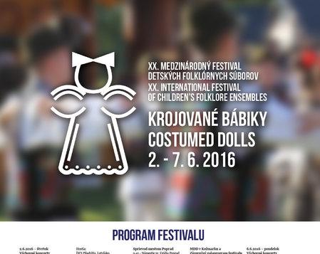 XX. medzinárodný festival detských folklórnych súborov