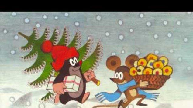 Krtek o Vánocích