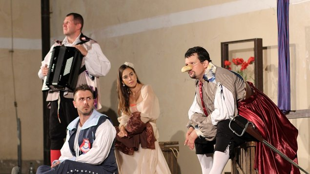 Cyrano - Túlavé divadlo Bratislava
