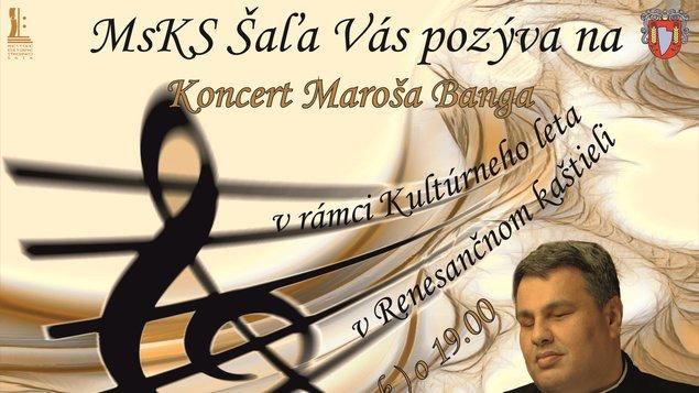 Koncert Maroša Banga