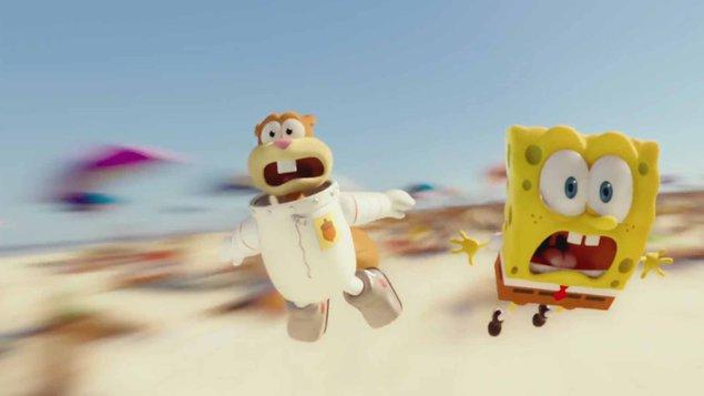 SpongeBob vo filme: Hubka na suchu