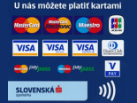 Možnosť platby kartou