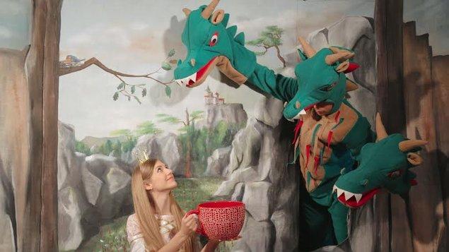 Divadlo Tamariki - Princezná a drak