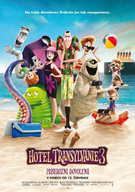 KINO: Hotel Transylvánie 3: Příšerózní dovolená