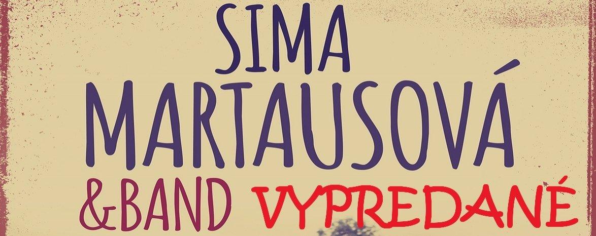 SIMA MARTAUSOVÁ & BAND TOUR 2016 - VYPREDANÉ