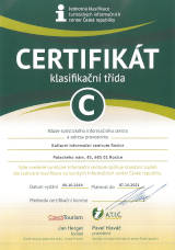 Certifikát TIC