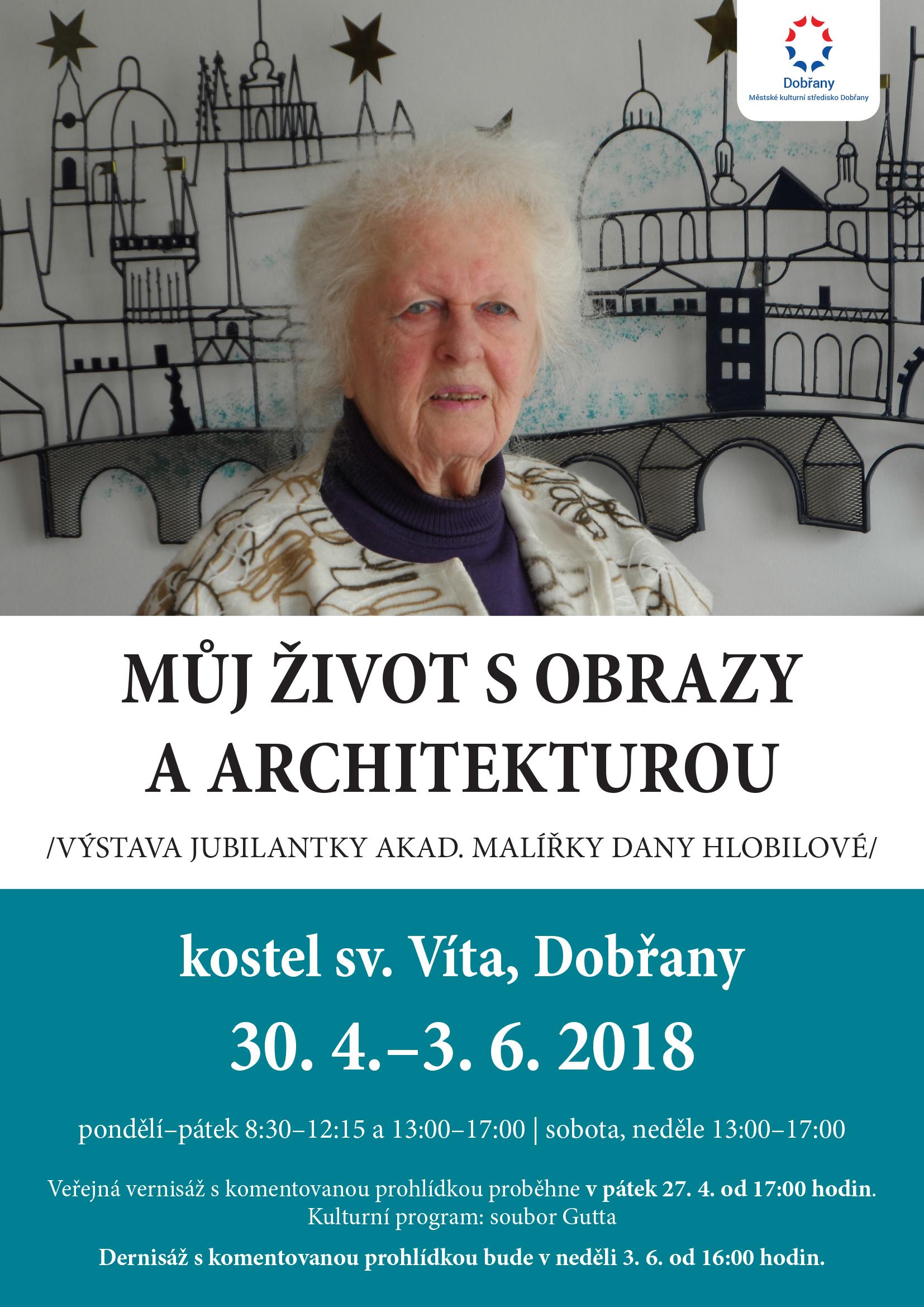Výstava Dana Hlobilová
