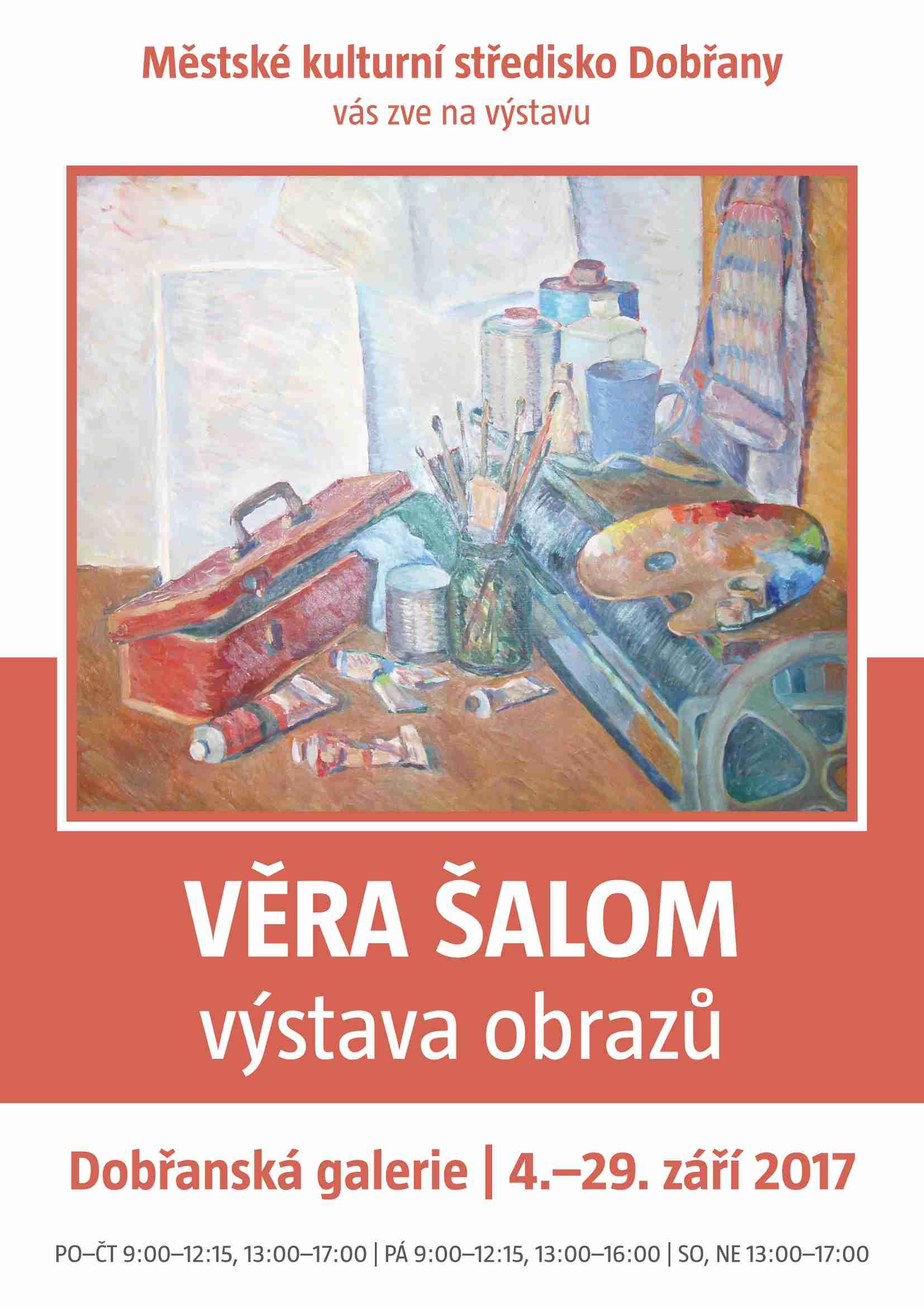Výstava Věra Šalom