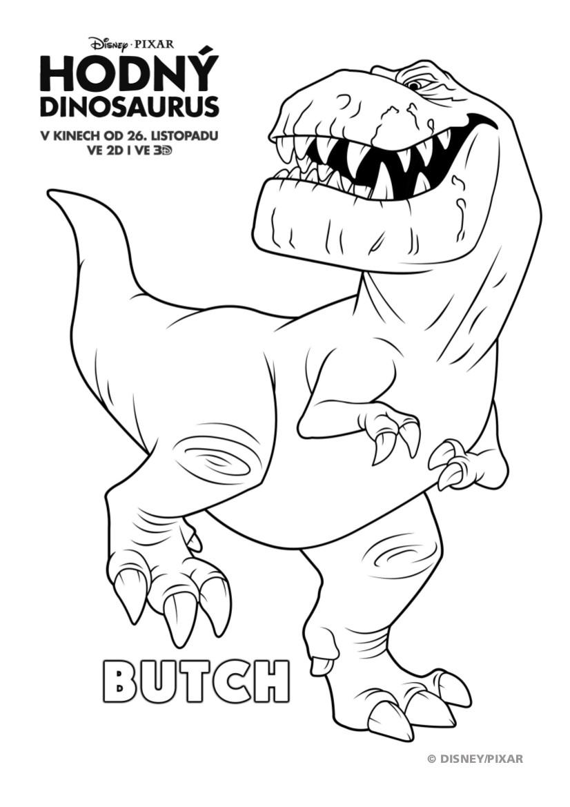 dinosaurus omalovanky