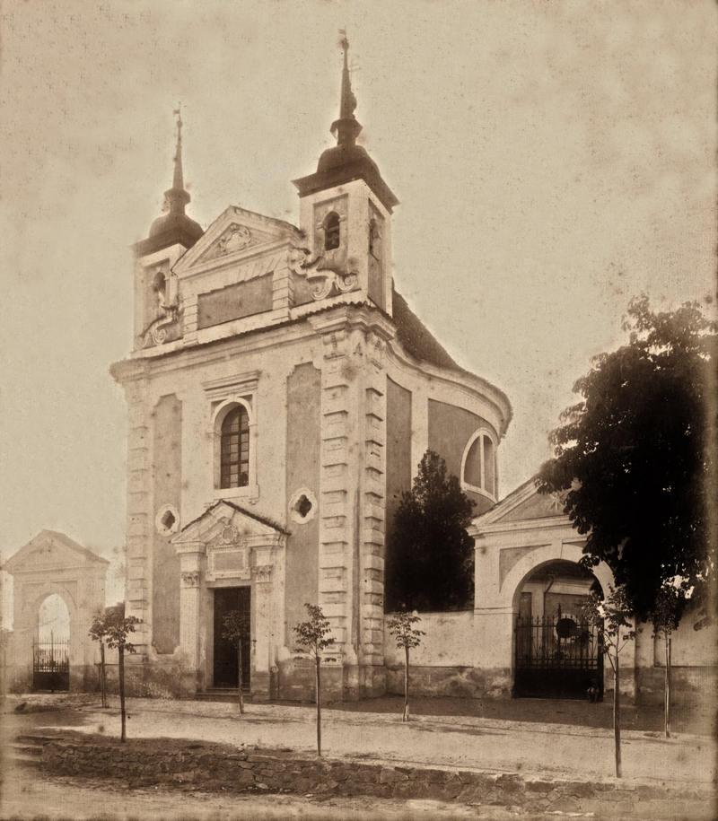 kostel sv. Michaela v Bechyni