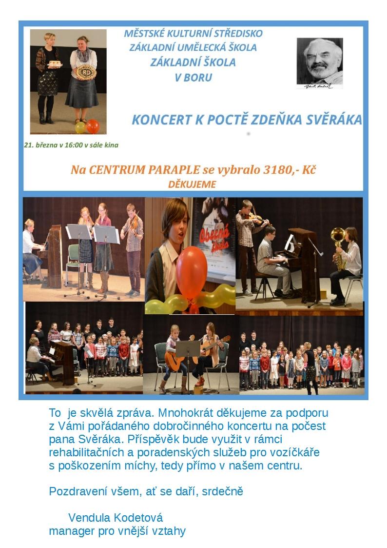 Koncert na počest Zdeňka Svěráka