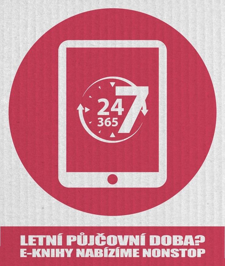 logo - letní půjčování eknih