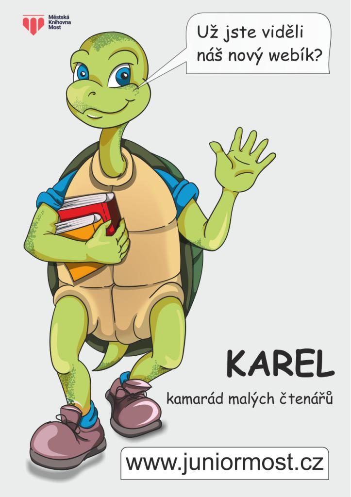 Karel, kamarád malých čtenářů
