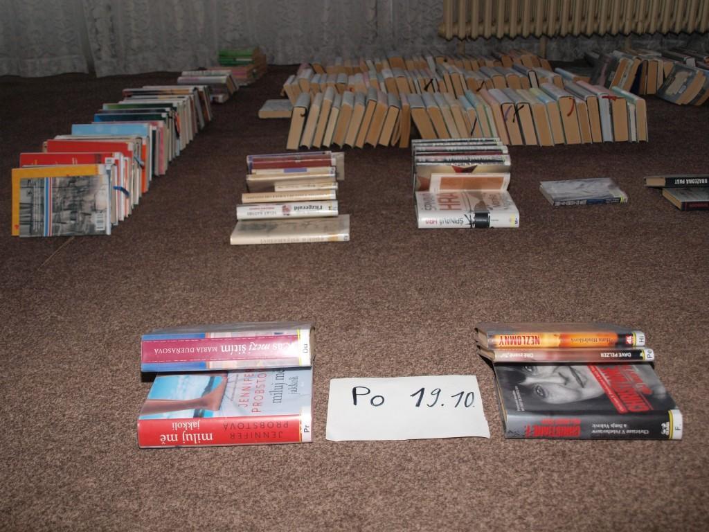 knihy v karanténě