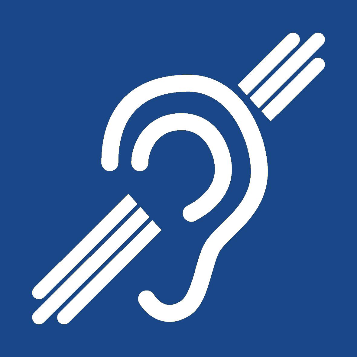 Piktogram neslyšící