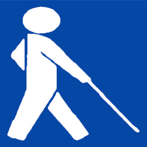 Piktogram nevidomí