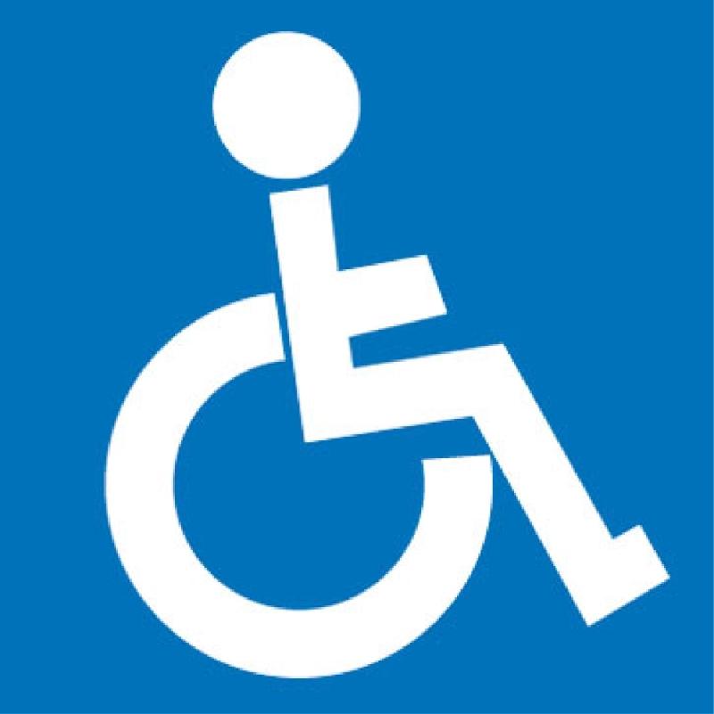 Piktogram tělesně postižení