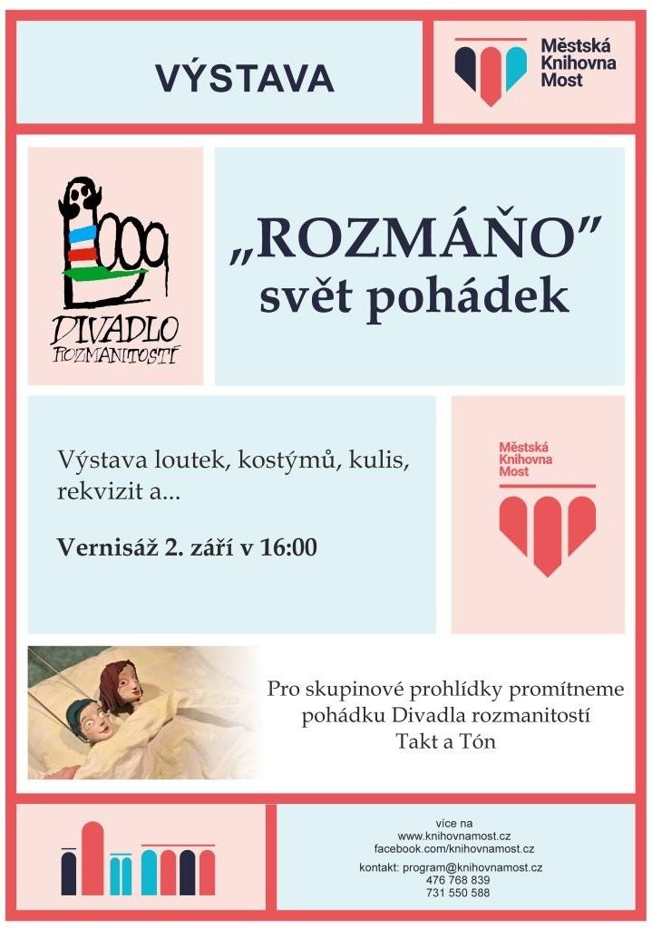 Plakát - výstava Rozmáňo