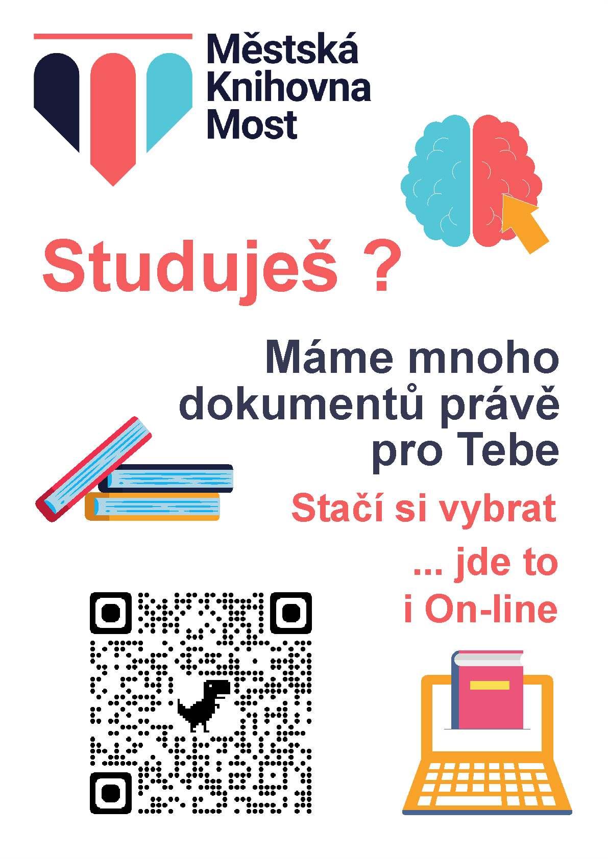 Plakát - učebnice pro studenty