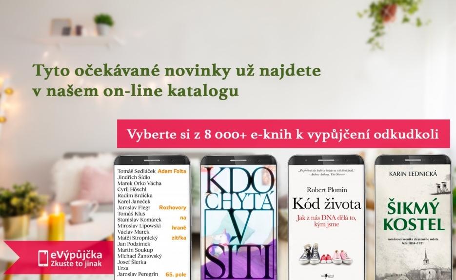 e-knihy novinky