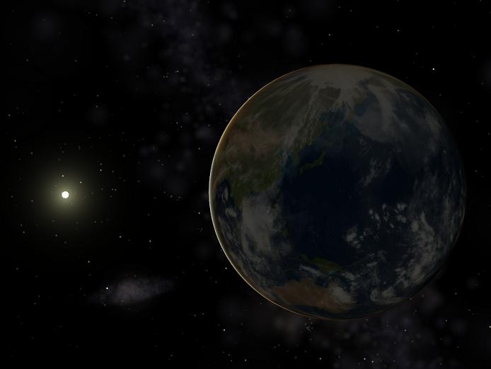 Země a Slunce