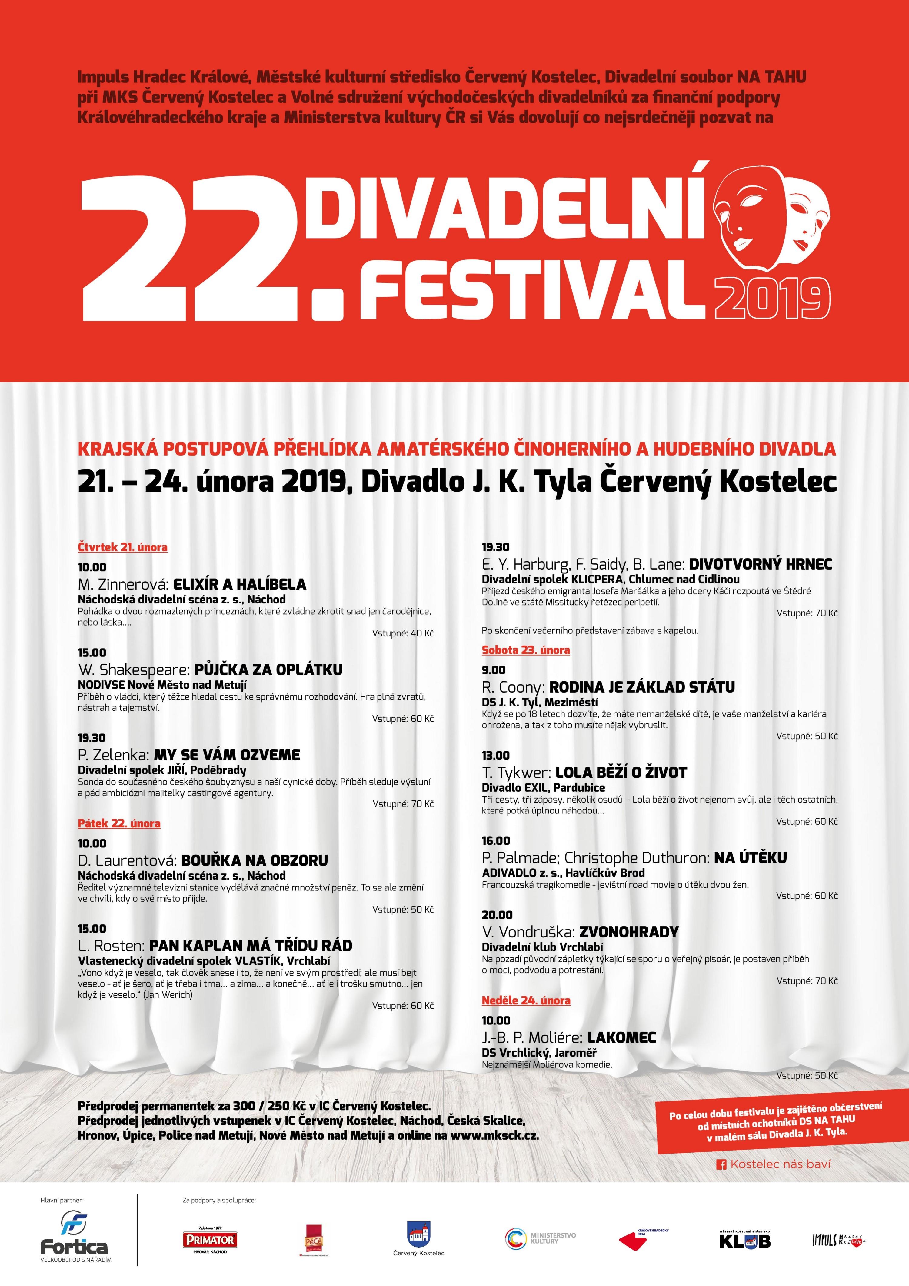 Divadelní festival Červený Kostelec