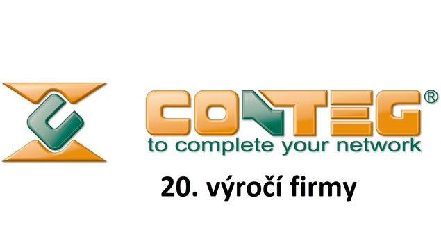 20. výročí založení firmy Conteg