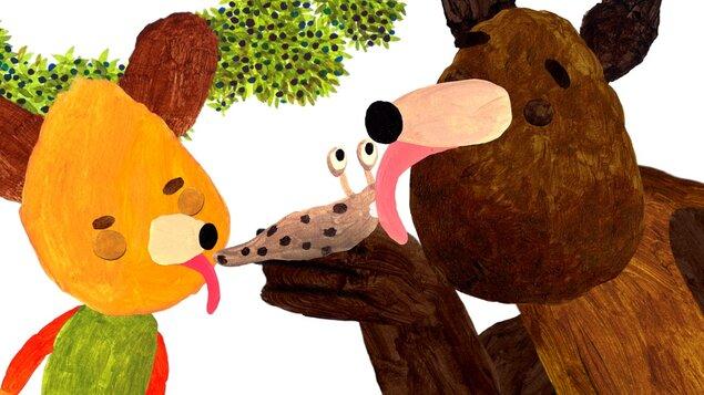 Maškrtné medvedie príbehy +Cez palubu!