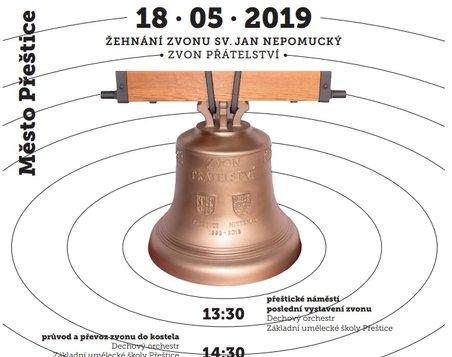 Žehnání zvonu sv. Jan Nepomucký