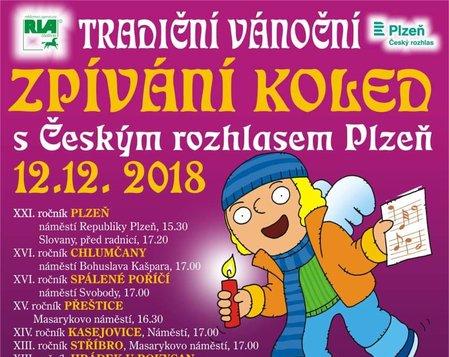 Vánoční trhy, Zpívání s Českým rozhlasem