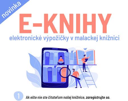 E-KNIHY v MCK Malacky - Knižnica