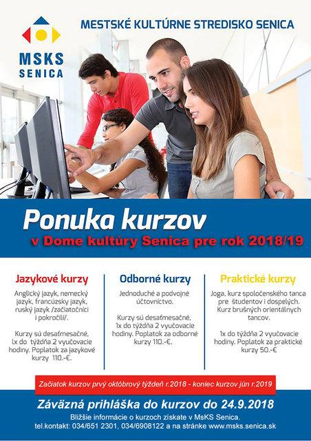 Ponuka kurzov v DK Senica – program a vstupenky online  e6a712ac5b3